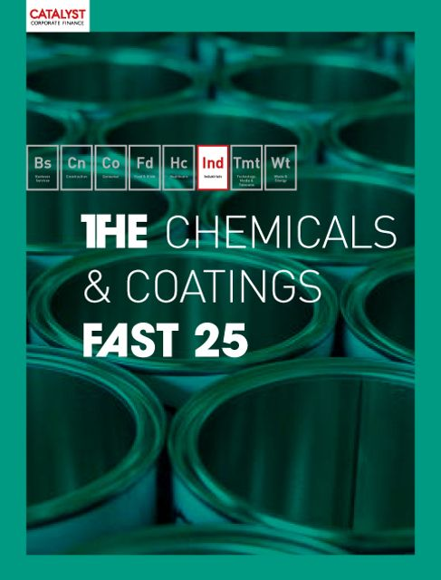 Introducing the Catalyst Chemicals & Coatings Fast 25 featured image