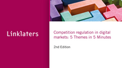 Watch: Competition regulation in digital markets - five themes in five minutes