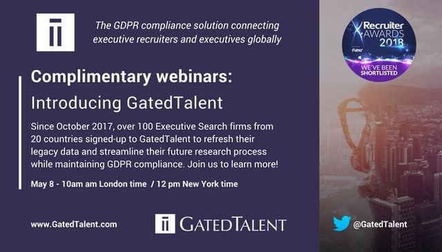 Discover GatedTalent, more than just a GDPR Module featured image