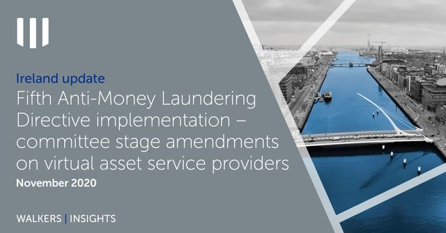 Ireland Update - Virtual Assets / Proposed AML Requirements featured image