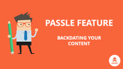 Feature: Backdating your content