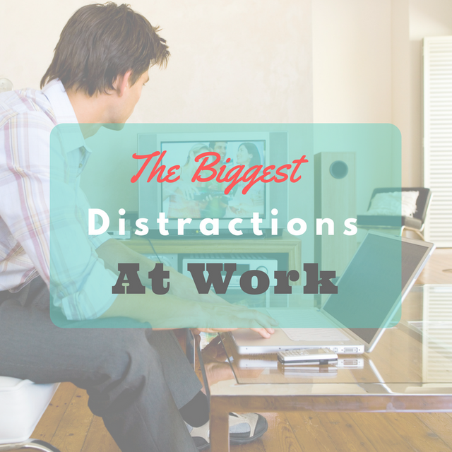 What Are The Biggest Distractions At Work? featured image