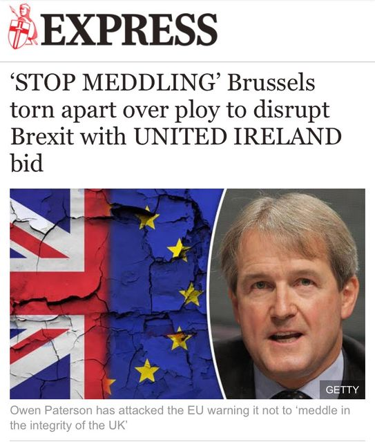 Northern Ireland is the EU's business in Brexit negotiations: Irish Times opinion piece today featured image
