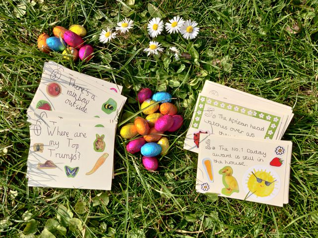 Create your own Easter treasure hunt! (Or any other type of treasure hunt ...) featured image
