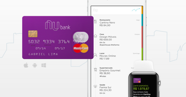 Brazil's Nubank to take on the big boys in financial services featured image