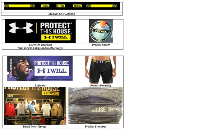 Under Armour has words over I WILL and I CAN trademarks featured image