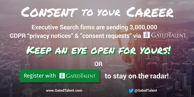Calling Senior Executives worldwide - Consent to your Career! featured image