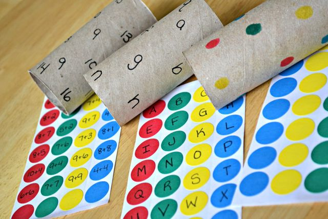 Genius toilet roll activity for maths or phonics featured image