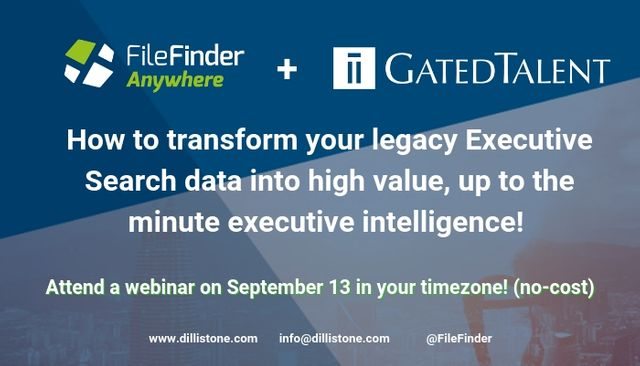 [Webinar for Executive Recruiters] How to transform your legacy data into high value, up to the minute executive intelligence featured image