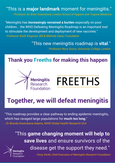 A global vision to defeat meningitis by 2030 featured image