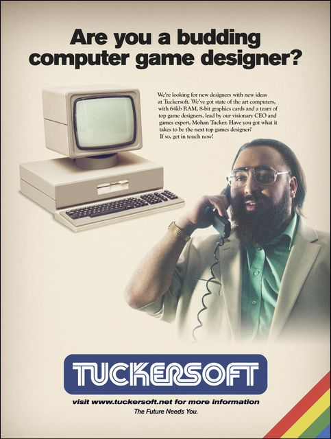 Are you a budding computer game designer? Tuckersoft. The Future Needs You. featured image
