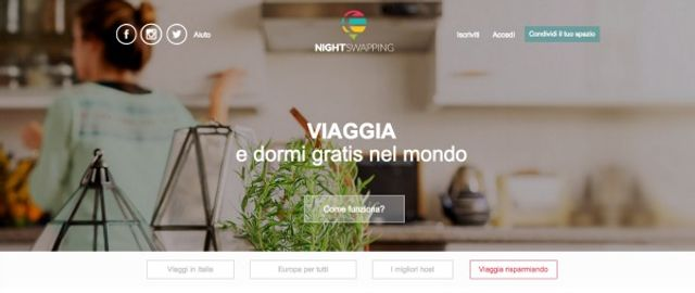 Nightswapping: la vacanza condivisa featured image
