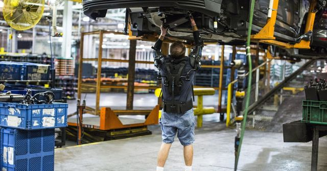 Exoskeletons in manufacturing make happy workers featured image