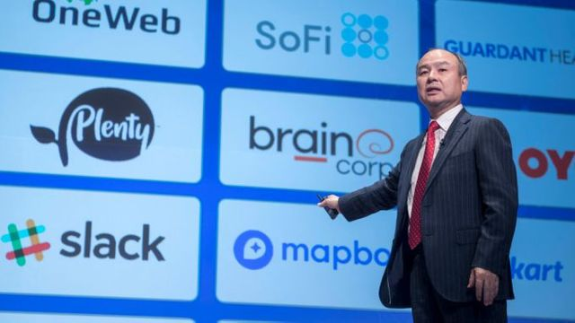 SoftBank trying to find vision forward. featured image
