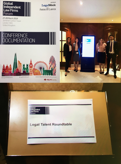 Winners of the Legal Talent Competition attend Global Independent Law Firms Forum featured image
