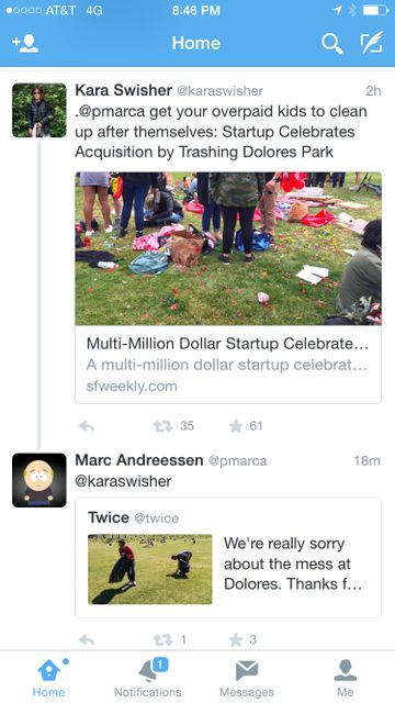 Multi-Million Dollar Startup Celebrates Acquisition by Trashing Dolores Park featured image