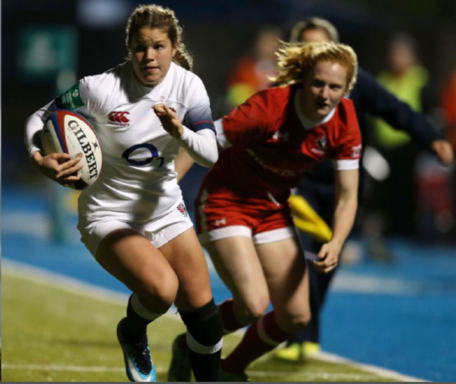 England women's rugby star and Irwin Mitchell ambassador shines in Six Nations featured image