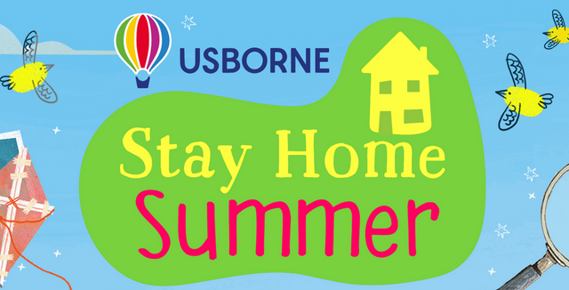 'Stay Home Summer' adventures with Usborne Books featured image