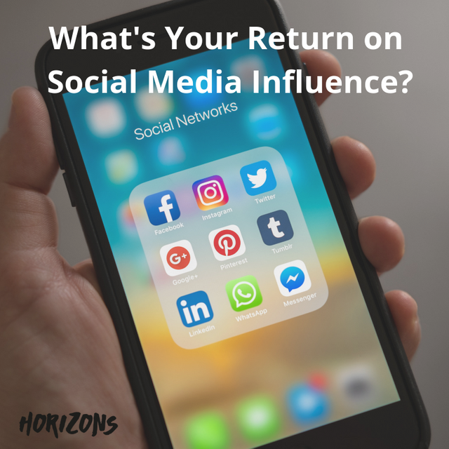 What's Your Return on Social Media Influence? featured image