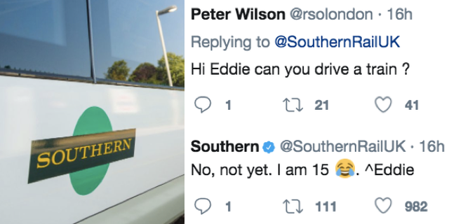 A masterstroke by Southern Rail and Eddie the work experience guy featured image