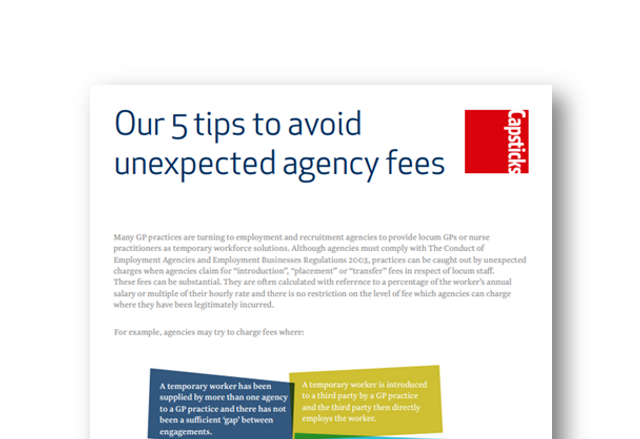 Care Homes agency staff - avoiding unexpected fees featured image