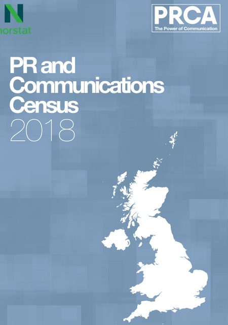 UK PRCA PR & Communications Census 2018 featured image