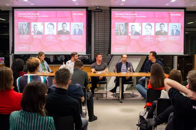 Throwback to last week's event about tech industry's social responsibility featured image