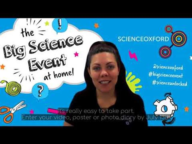 Get stuck in to the Big Science Event @ Home featured image