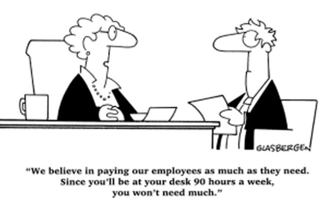 You're working way more than 40 hours a week? More fool you! featured image