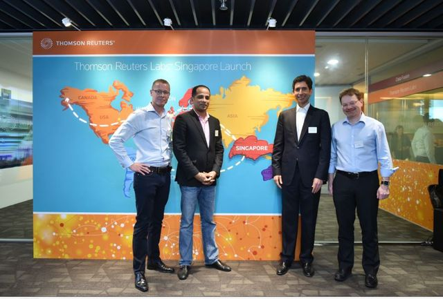 Thomson Reuters unveils innovation lab in Singapore featured image