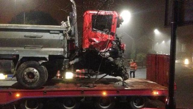 Bath fatal tipper truck crash featured image