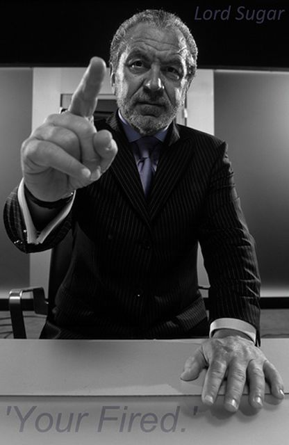 Sir Alan Sugar Trying To Communicate - You're Fired! Or Not? featured image