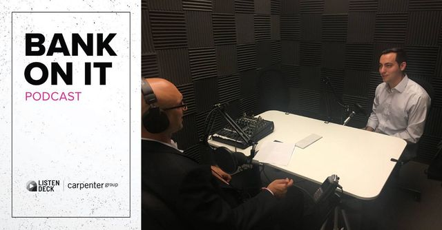 "Ocrolus CEO invited on ""Bank On It"" podcast show featured image"