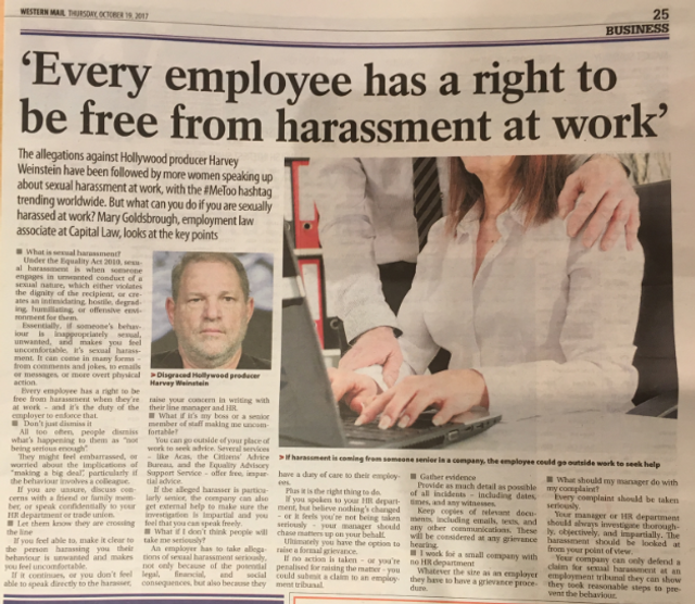 #MeToo: sexual harassment at work featured image