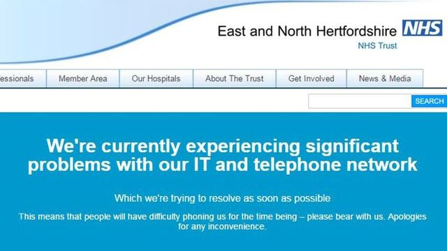 NHS England hit by 'cyber attack' featured image