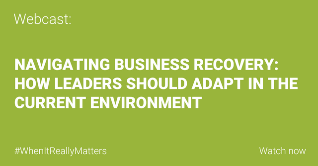 WEBCAST: Navigating Business Recovery featured image