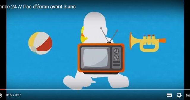Pas d'écran avant 3 ans : une nouvelle campagne du CSA featured image