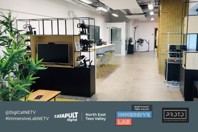 Digital Catapult NETV Immersive Lab: 1 year on! featured image