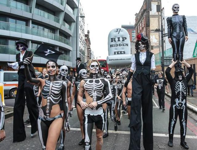 TransferWise stages Halloween march featured image
