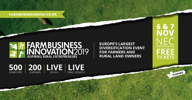 Don't miss my slot at the Farm Business Innovation show next week! featured image