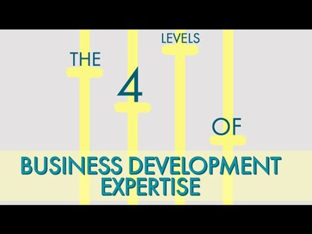 The four levels of business development featured image