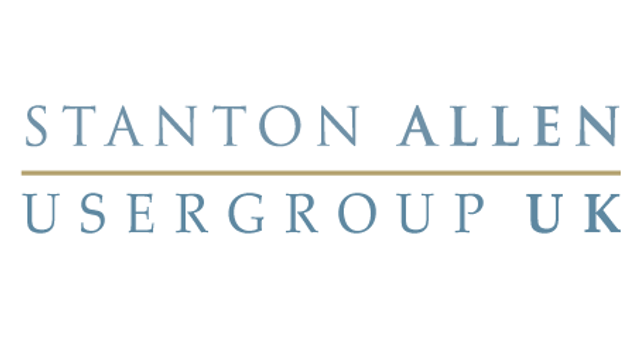 Stanton Allen User Group London May 2017 featured image