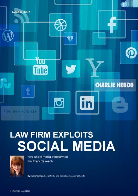 Law Firm Exploits Social Media: Pini Franco Case Study featured image