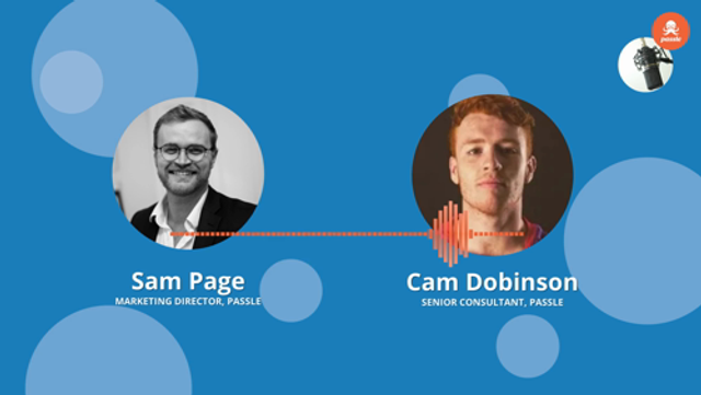 Passle Podcast EP 24 - Cam Dobinson on success in thought leadership featured image