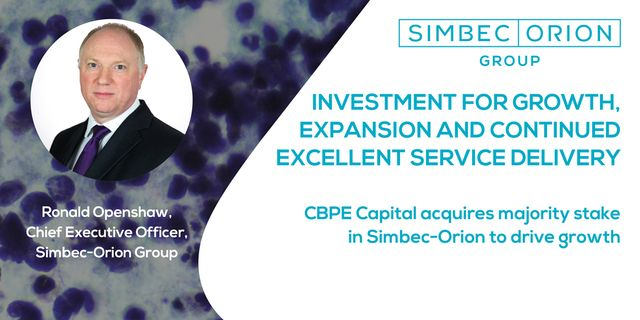 CBPE Invests in Simbec-Orion featured image