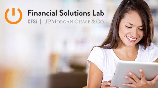 JPMorgan Chase & Co. is investing $30 million in the CFSI Financial Solution Lab featured image