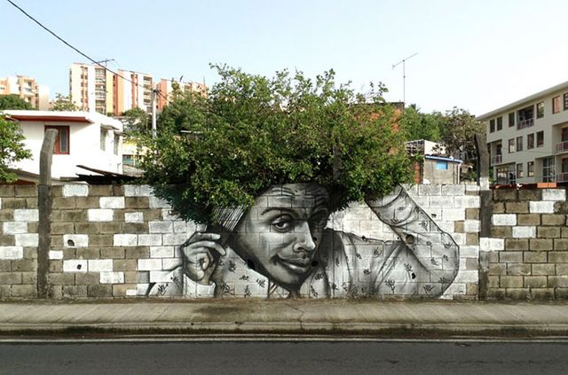 Street art meets nature featured image