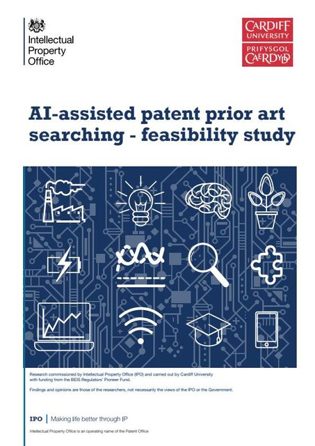 UK Intellectual Property Office publishes a study on AI-assisted patent prior art searching featured image