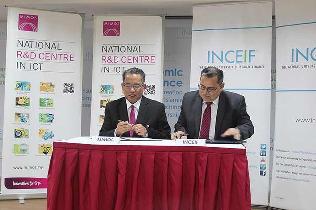 MIMOS and INCIEF sign MOU for collaboration in the area of Islamic Fintech featured image