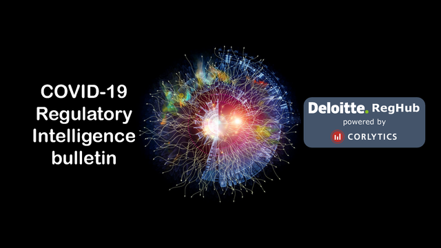 COVID-19 | Regulatory Intelligence Bulletin | Thursday 2nd April 2020 featured image